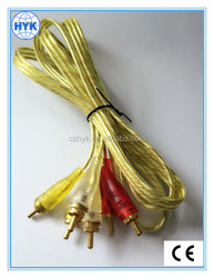 3 RCA to 3 RCA audio cable