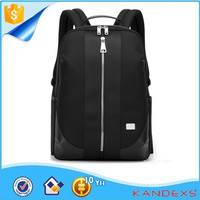 OEM&ODM High Quality Nylon 1680D Black Backpack