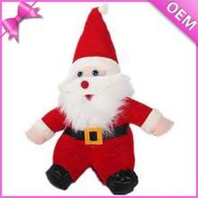 singing & dancing plush santa claus,plush santa claus dolls,stuffed santa claus