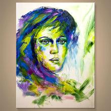 sin marco de pintura de arte sobre lienzo en el precio de descuento
