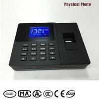 External time bell networking fingerpint time recorder nideka for 1000 capacitves users