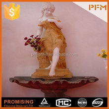 hot sale natural well polished hand carved marble famous stone sculptures