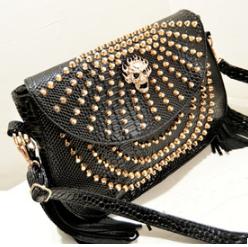 Top design girls skull PU handbag Messenger Bags wholesale leather fashion bags