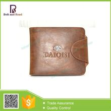 China manufacture Discount 2015 embroidered leather men's' wallet