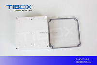 TIBOX Gray ABS cover plastic enclosure box prototype for electronic