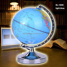 hot sale high quality World Globe inventive Christmas gift SL-160T touch table lamp