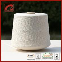 Luxury wool blended yarn knitting wool shawl for high end brand