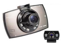 2.7 Inch LCD 1080P Full HD Dual Lens Rearview Reversing Auto Dash Camera