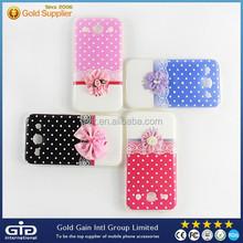 Flower Transparent TPU Case For Galaxy Grand I9082