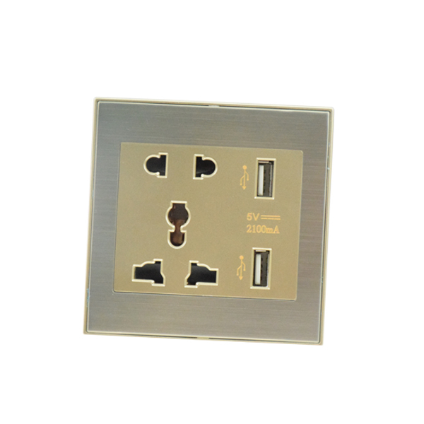 Wall Lamps With Outlets : Power Outlet Hotel Wall Lamp Outlet With Usb 5v 2.1a Electrical Socket Usb 220v Outlet - Buy ...