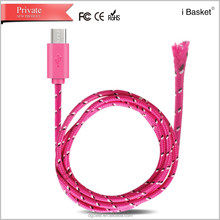 Wholesale 2 in 1 Lighting USB Cellphone Data Cable for Android for iPhone5 for iPad 4