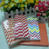 custom pritned paper straw, paper napkin party supplies