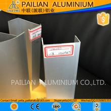 Pailian precio de aluminio por kilo, 40 x 40 aluminio perfil, perfil de aluminio para white room sala limpia