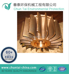 years of machining expirence small open bronze impeller