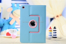 360 degree rotate customized case for Apple ipad mini case with all kinds of colors HH-IPM05(22)
