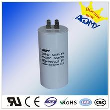 Latest hot selling!! long lasting motor run capacitor 30uf 450vac Fastest delivery