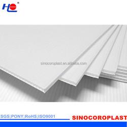 100% New Print-Grade Coroplast Plastic