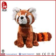 Wild life artist plush animal toy stuffed red panda