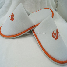 Trade Assurance product new product!wholesale 5 stars high quality disposable 100 cotton hotel EVA slipper