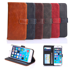 Book Leather Case for iPhone 6 plus manufacturer, for iphone 6 plus case