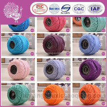 Eco-friendly Egyptian cotton cross stitch yarn