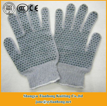 Wholesale polka dot cotton high impact protective soldering glove