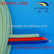 Insulation Acrylic Fiberglass Sleeving for Class F Motor