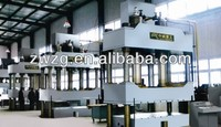 ZHONGWEI Four Columns Hydraulic Press machine with TUV ISO CE certification and competitive price