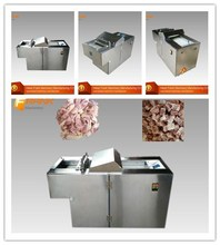 professional Poultry meat cube dicer machine
