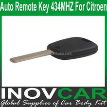 Car Remote Key 2 Button 2B For Citroen Auto Remote Key