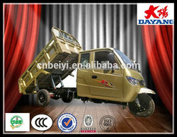Heavy Duty Four Cylinder Closed Container Adult Tricycle With Hydraulic In Mexico