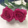 artificial hot pink flower scented artificial flower soft touch small rose flower