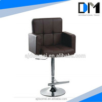 Sales Promotion:Modern Leather Swivel Hotal Chair With Armrest and footrest