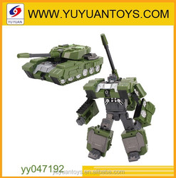 Hot new product for 2015 Innovative design 5 in 1 transformes robot toys with metal