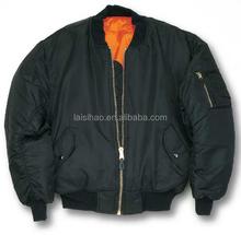 US MA-1 Bomber Flight Jacket (Black),Clothing Men