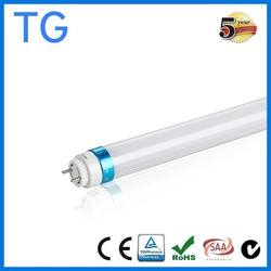 Shenzhen factory CE TUV approved 140lm/w tube8 led tube 1500mm for Europe