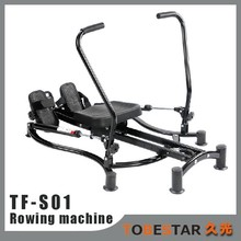 Home Indoor Fit Rowing Machine with Foam Seat