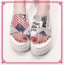 Clip toe stylish latest dress designs fashion nice women nude beach slippers