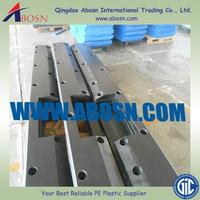 UHMW-PE facing pads/ dock fenders/ anti-rot plastic block