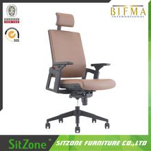 GT-001A Nylon frame high back leather Executive chair