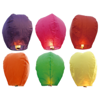 Artificial Style and Paper Material biodegradable sky lantern