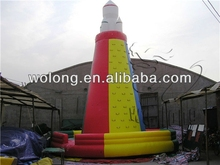 inflatable climbing, rock climbing wall, inflatable bounce bed