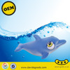 soft eye popping toys lovely dolphin vinyl toys green material ICTI aduit factory CE71
