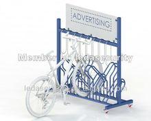 Cafe Bike Rack with Custom Signage
