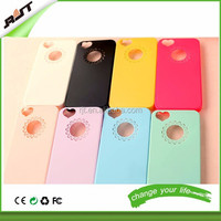 Best Sellers Cute candy Color Loving Heart Flower Lace Hard PC Phone Case Cover For iPhone 4 4S 5 5S 6