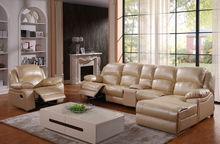 Sala de estar sofá reclinable conjunto LS028
