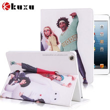Newest thoughful carton image printing case for ipad