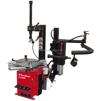STC658R tyre removal machine with right assist arm, car repair machine