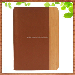 real wood tablet cover for ipad mini 2 case, for ipad mini 3 leather case