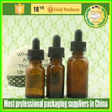 For female beauty 15ml frosted glass dropper bottle for essential oil e liquid